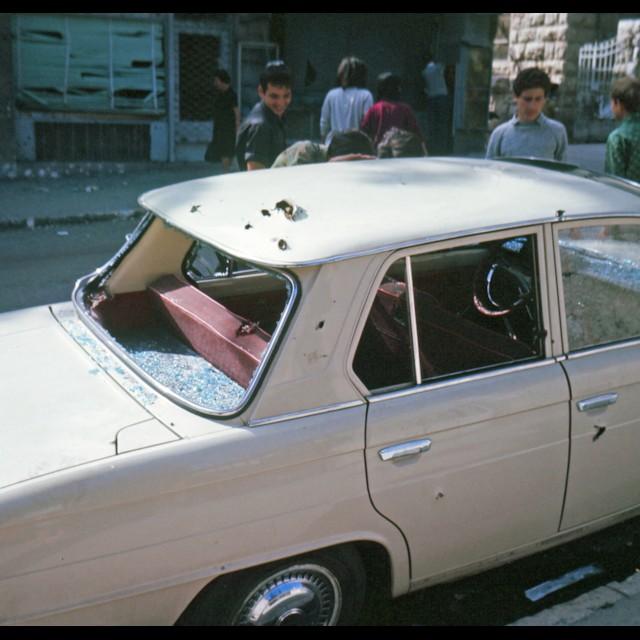 Jaffa Road Car June 1967
