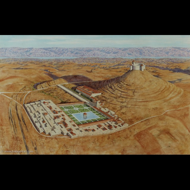Herodium Illustration