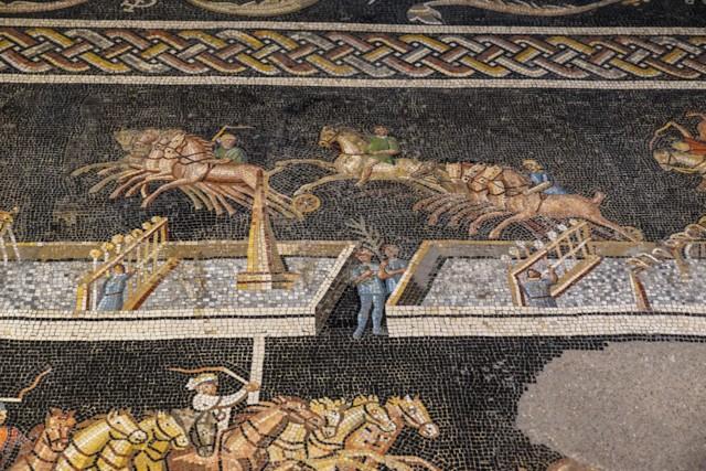 Circus Games Mosaic Spina Detail