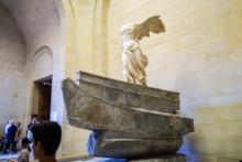 Winged Victory of Samothrace Left Side