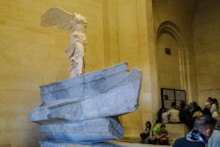 Winged Victory of Samothrace Right Side
