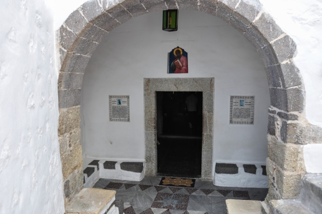Entrance to Chapel of St. Anne