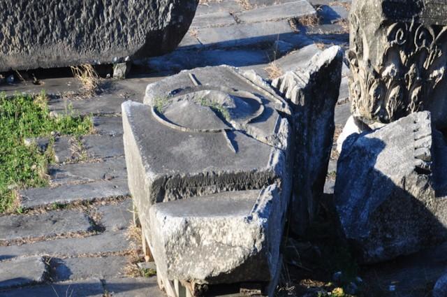 Shield and Spear Pediment