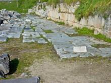Via Egnatia in Philippi