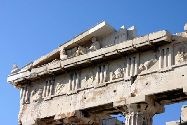 Eastern Pediment