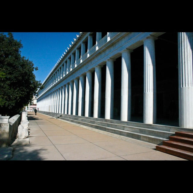 Stoa of Attalus Detail