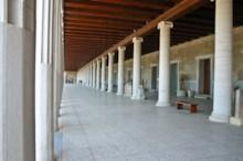 Stoa of Attalus Interior
