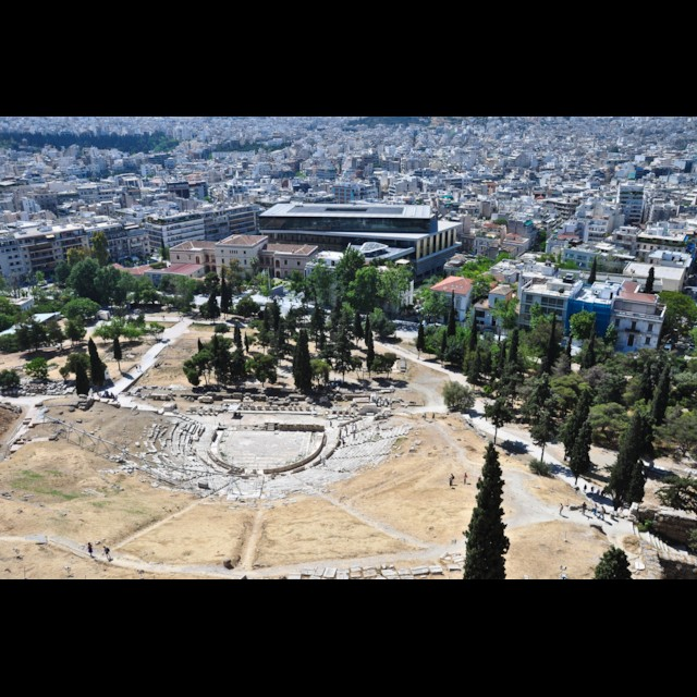 New Acropolis Museum & Theater of Dionysus