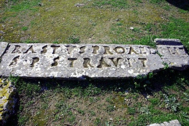 Corinth Erastus Inscription
