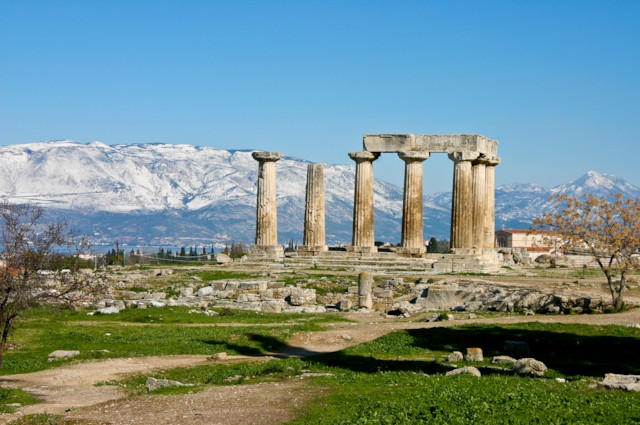 Corinth Temple of Apollo