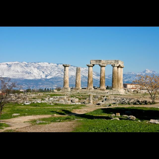 Corinth Temple of Apollo