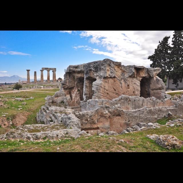 Glauke Fountain & Temple of Apollo