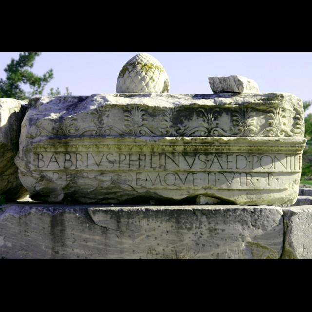 Babbius Inscription