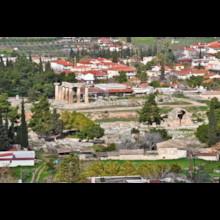 General View Apollo Temple