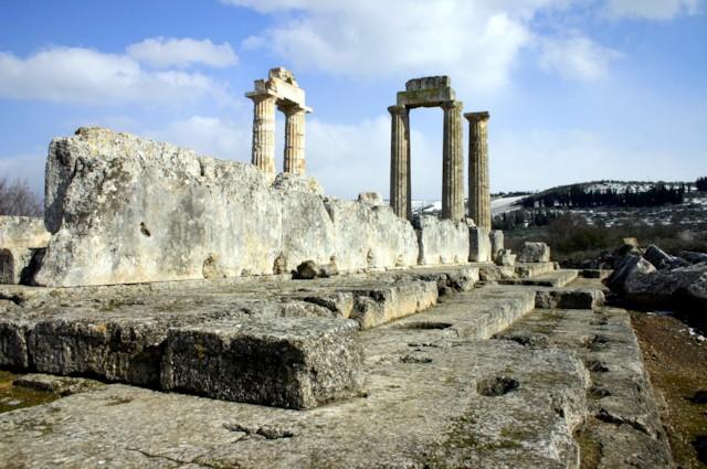 Temple of Zeus Crepidoma