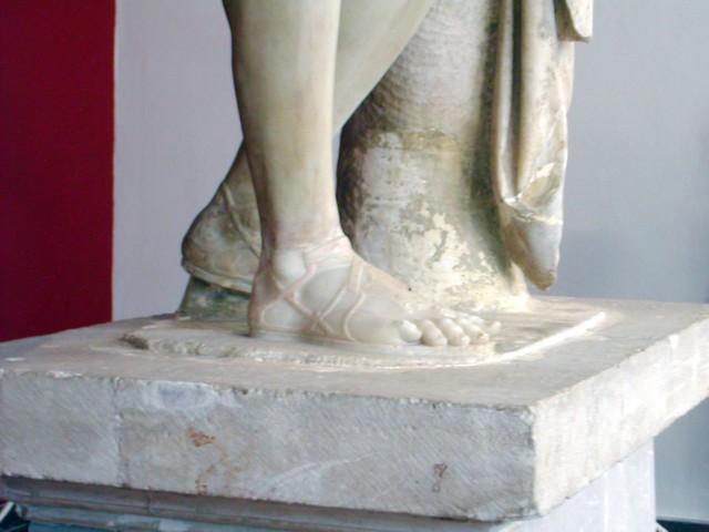 Hermes of Praxiteles Sandal