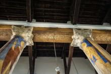 Carved Ceiling Beams