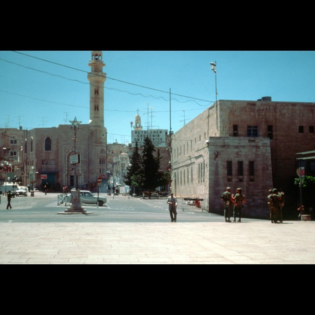 Manger Square Late 1970
