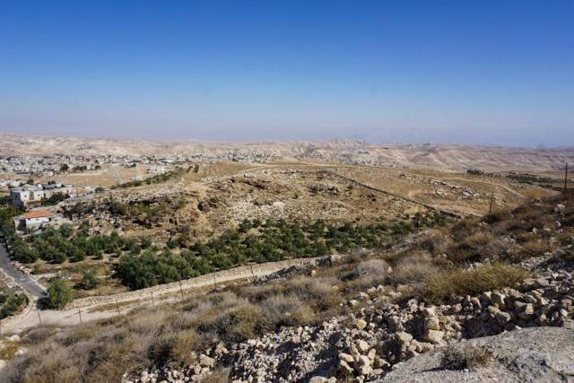 View Towards Judean Wilderness