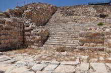 Gerizim Temple Staircase