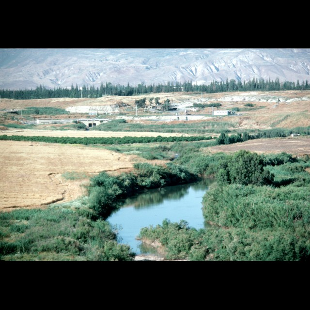 View of Jordan River