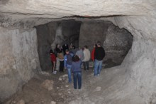 Cistern With People