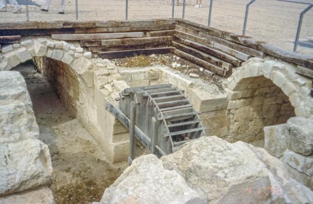 Amphitheater Underground Detail