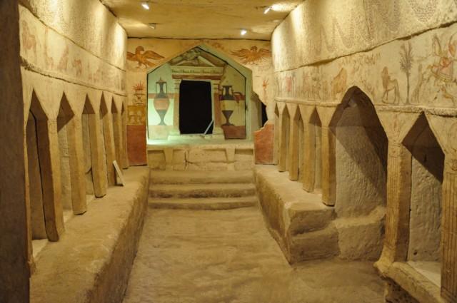 Tomb I Sidonian Tomb Interior