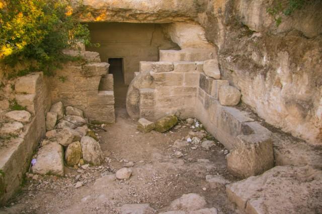 Rebuilt Tomb
