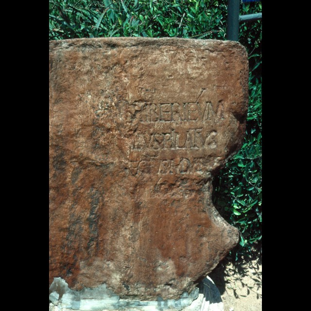 Pontius Pilate Inscription 2