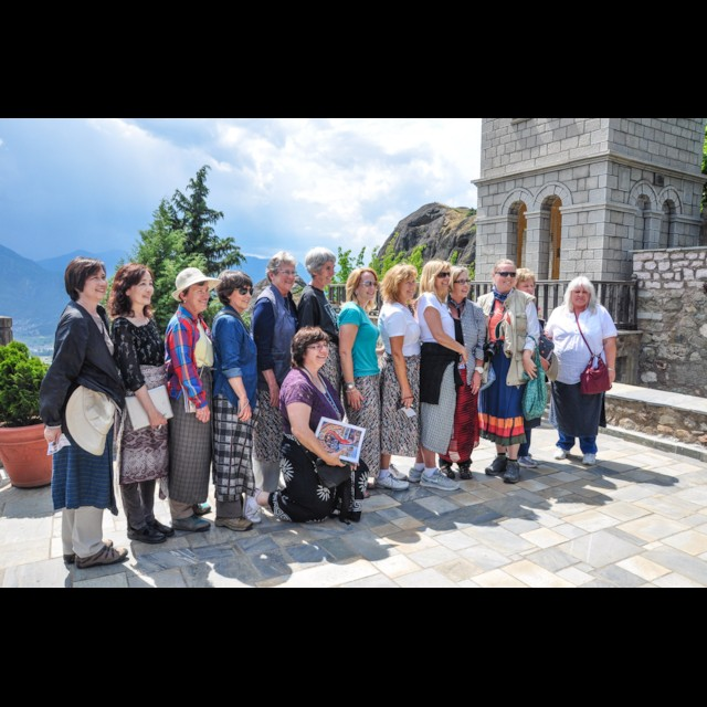 Visiting Varlaam Monastery