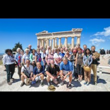 2014 Group On the Acropolis in Athens