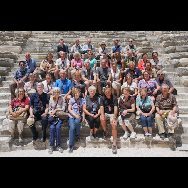 Our 2015 Group at Aspendos