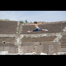 Gymnastics at the Asclepion of Pergamum