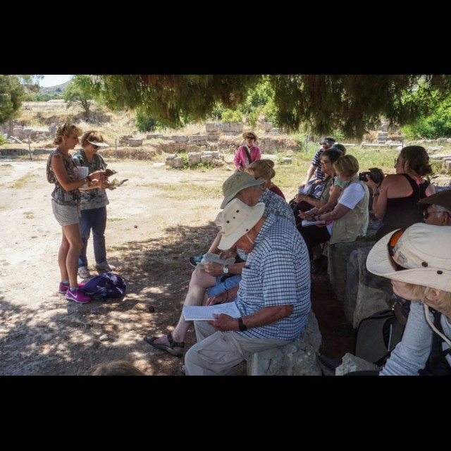Scripture Reading at Corinth