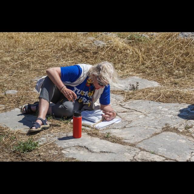Corinth Erastus Pavement