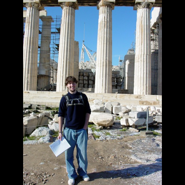 David and the Parthenon