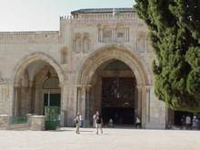 El-Aqsa Mosque (Entrance)