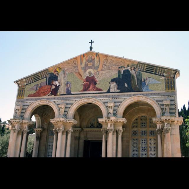 Church of All Nations Gable Mosaic