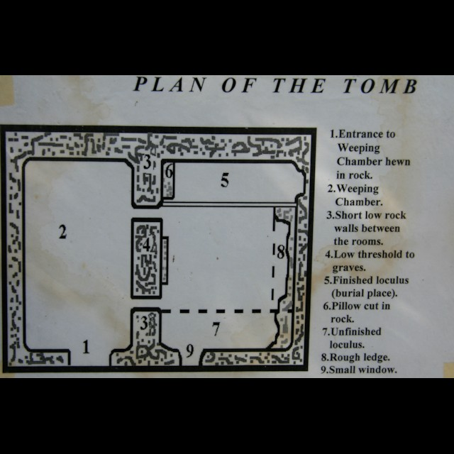 Plan of Tomb