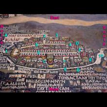 Madaba Map Marked