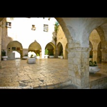 Franciscan Courtyard 1