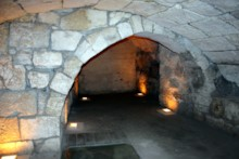 Arch in Secret Passage