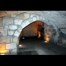 Arch in Secret Passage