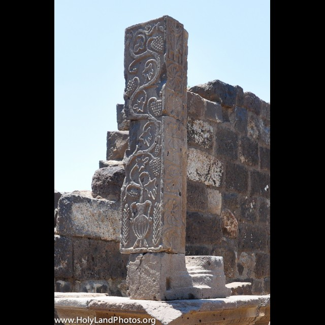 Column with Menorah