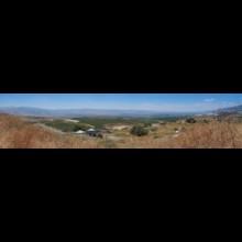 Panorama of Huleh Valley