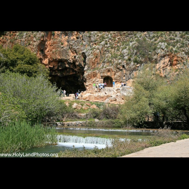 Banias Pools and Cave