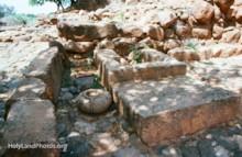 Stone Base at the Podium