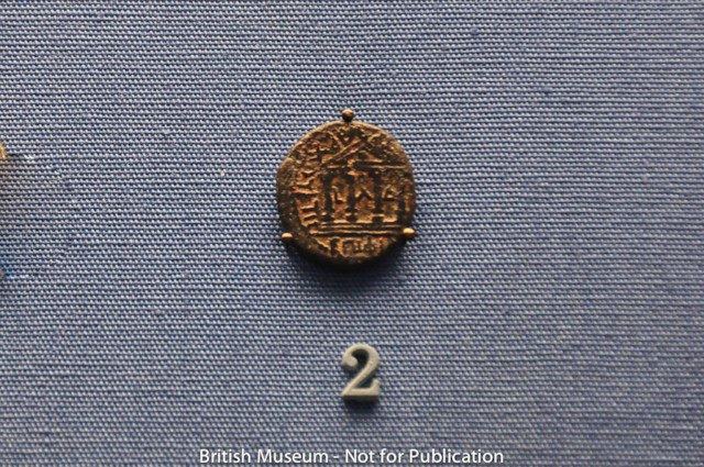 Coin with Temple