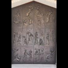 Marian Door Detail
